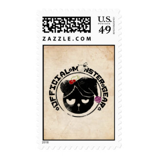 4 Little Monsters - Michael Holiday Logo Stamp