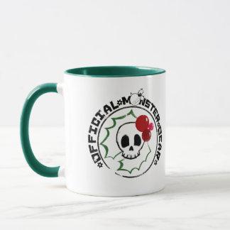 4 Little Monsters - Nessa Holiday Logo 2 Mug