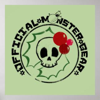 4 Little Monsters - Nessa Holiday Logo 2 Poster