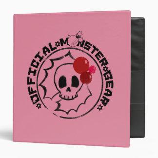 4 Little Monsters - Nessa Holiday Logo Binder