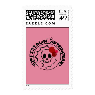4 Little Monsters - Nessa Holiday Logo Stamp