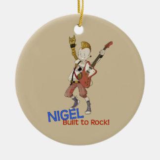 4 Little Monsters - Nigel Ceramic Ornament
