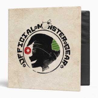 4 Little Monsters - Nigel Holiday Logo 2 3 Ring Binder
