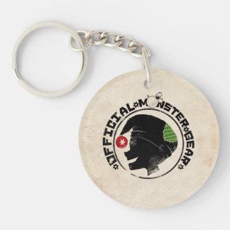 4 Little Monsters - Nigel Holiday Logo 2 Single-Sided Round Acrylic Keychain