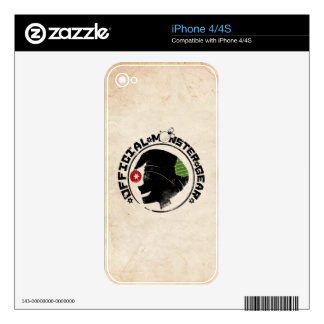 4 Little Monsters - Nigel Holiday Logo 2 Skins For The iPhone 4S