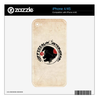 4 Little Monsters - Nigel Holiday Logo Skin For iPhone 4S