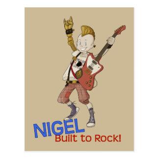 4 Little Monsters - Nigel Postcard