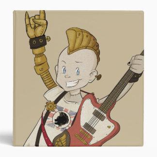 4 Little Monsters - Nigel Vinyl Binder