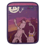 4 Little Monsters - Night Music Sleeve For iPads