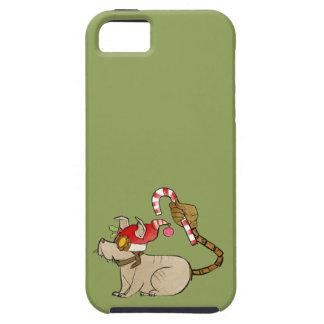 4 Little Monsters - Tesla Holiday Logo iPhone SE/5/5s Case