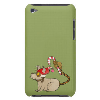 4 Little Monsters - Tesla Holiday Logo iPod Touch Case