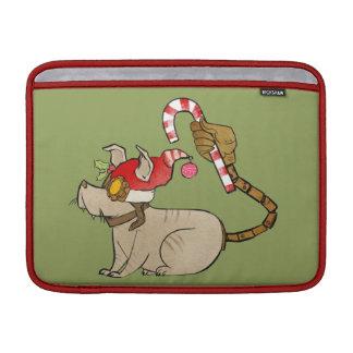 4 Little Monsters - Tesla Holiday Logo MacBook Air Sleeve