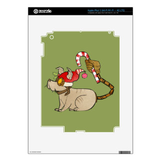 4 Little Monsters - Tesla Holiday Logo Skins For iPad 3