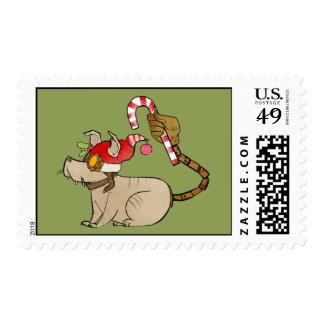 4 Little Monsters - Tesla Holiday Logo Stamps