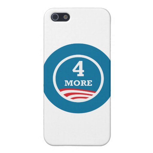 4 más años Obama 2012 iPhone 5 Carcasa