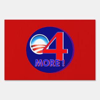 4 más años para la muestra de obama