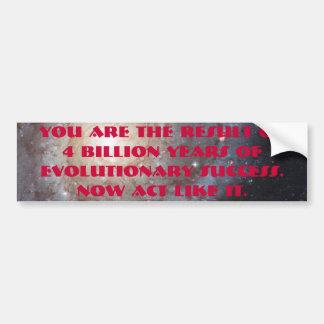 4 mil millones años etiqueta de parachoque