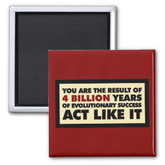 4 mil millones años de evolución. El acto tiene gu Imán Cuadrado
