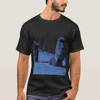 4 Moai, Easter Island T T-Shirt