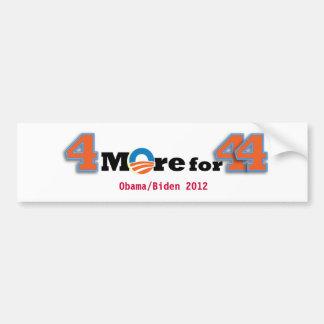 4 More for 44 Bumper Sticker