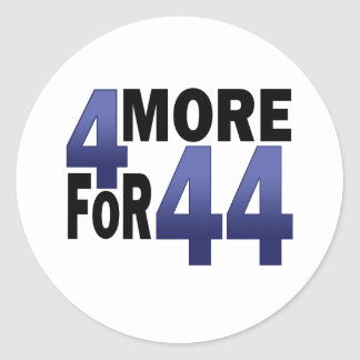 4 More For 44 Stickers