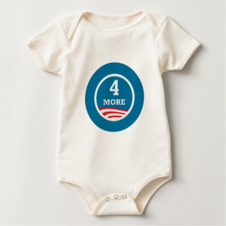 4 More Years Obama 2012 Baby Bodysuit