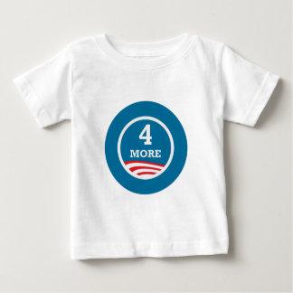 4 More Years Obama 2012 Baby T-Shirt