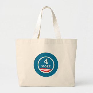 4 More Years Obama 2012 Tote Bag