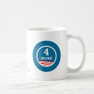 4 More Years Obama 2012 Classic White Coffee Mug