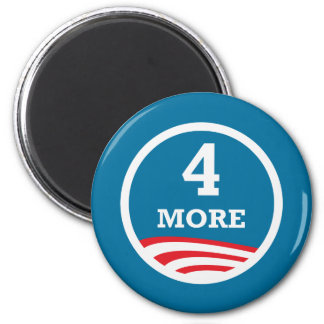 4 More Years Obama 2012 Magnet