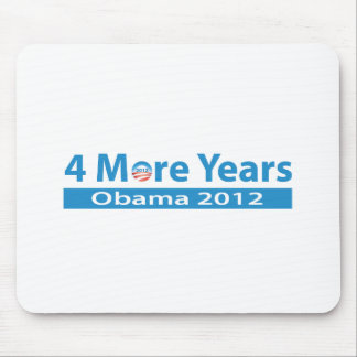 4 More Years of Obama Mouse Pad
