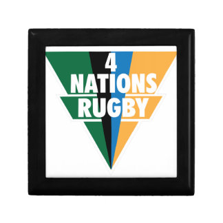 4 Nations Rugby Jewelry Box