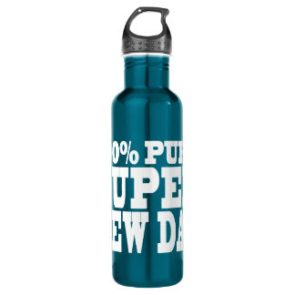 4 New Dads : 100% Pure Super New Dad 24oz Water Bottle