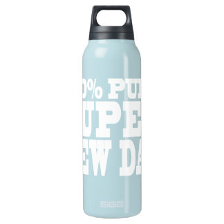 4 New Dads : 100% Pure Super New Dad 16 Oz Insulated SIGG Thermos Water Bottle