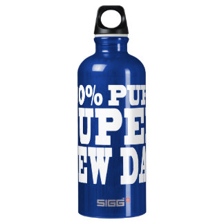 4 New Dads : 100% Pure Super New Dad Water Bottle