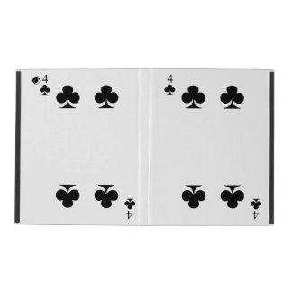 4 of Clubs iPad Folio Case