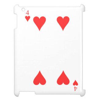 4 of Heart iPad Cover