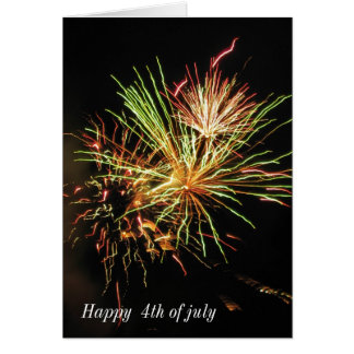 4 of July 3, Happy  4th of july Card