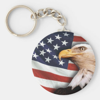 4 of july keychain