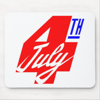 4 Of July Mouse Pad