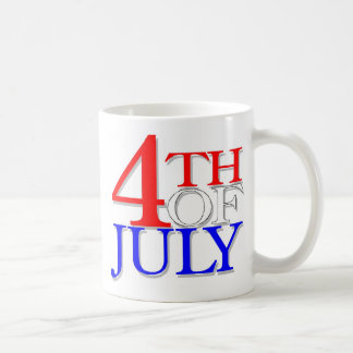 4 Of July Coffee Mug