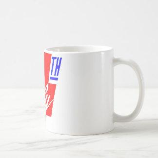 4 Of July Coffee Mugs