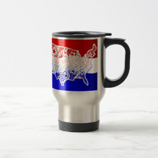 4 of July- USA Travel Mug