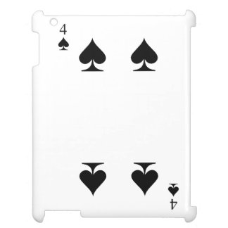 4 of Spades iPad Covers