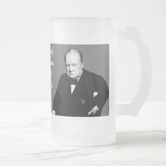 #4 - On The Evil Of Socialism Frosted Glass Beer Mug