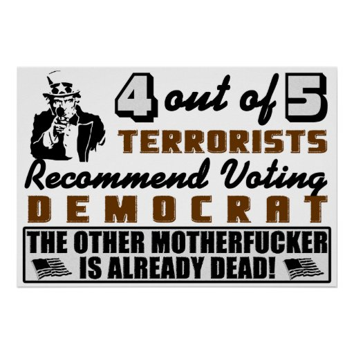 4 Out Of 5 Terrorists Poster