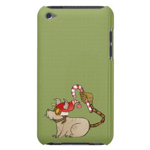 4 pequeños monstruos - logotipo del día de fiesta iPod touch Case-Mate cárcasas