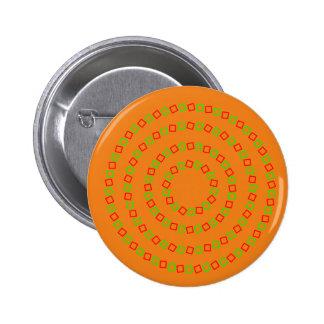 4 Perfect Circles (Optical Illusion) Pinback Button