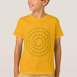 4 Perfect Circles (Optical Illusion) T-Shirt
