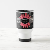 4 Photo Collage for Mom | Mother's Day Travel Mug